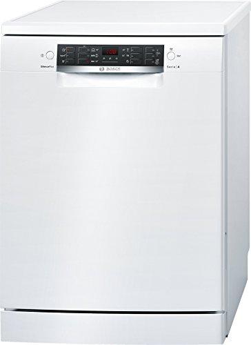 Bosch Serie 4 SMS46KW01E lavavajilla Independiente 13 cubiertos A++ - Lavavajillas (Independiente, Tamaño completo (60 cm), Blanco, Negro, Blanco, LED, 1,75 m)