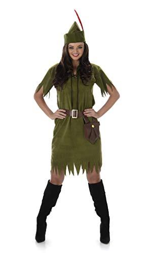 Karnival Kostuums 81033 Robin Hood Neverland meisje kostuum