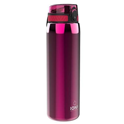 Ion8 1 Litre Botella de Agua de Acero Inoxidable