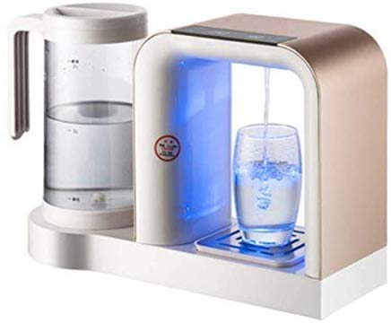 Water Dispenser met kraanwater Boiler, Elektrische Ketel van het Water, 3 tweede Intelligent Speed Hot Water Heater Smart water, Office Household Mini Bedroom Mini Coffee Table (Color : Gold)