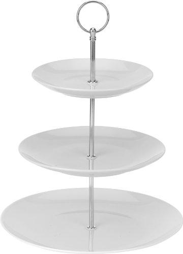 Porzellan Etagere mit 3 Etagen 35cm