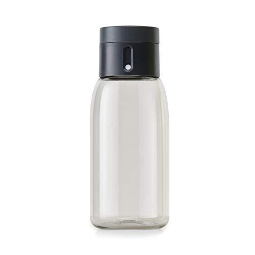 Joseph Joseph Dot Botella de Agua con Tapa de Hidratación, Gris