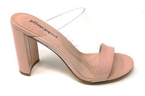 Jeffrey campbell - j.campbell 17 keira suede nude clear - 38