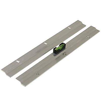 Colgador de alta resistencia en Z para hasta 30 kg (fijación sólida). Cada barra mide 300 mm de largo x 20 mm de ancho. Profundidad total: 6 mm. Se pueden utilizar varias barras para distribuir la carga. Tornillos y tacos incluidos.