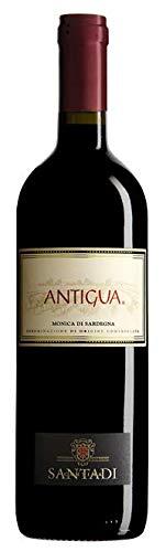 1 bottiglia x 0.75 l - Antigua. Monica di Sardegna Doc, vino rosso sardo prodotto dalla cantina di Santadi