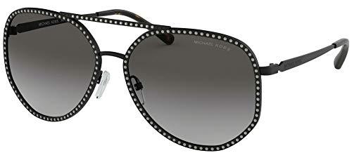 Michael Kors 0MK1039B 58mm Matte Black/Light Grey Gradient One Size