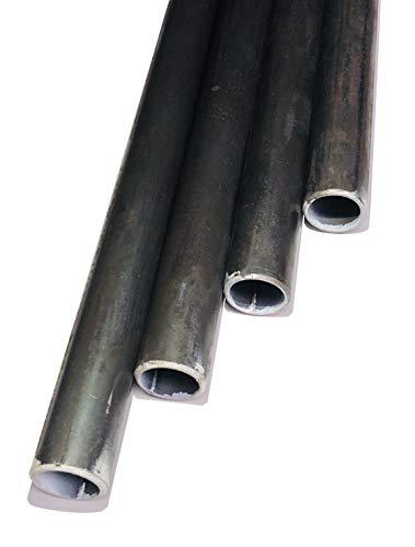 Rundrohr/Rohr/Stahl/WST 1.0038 / S235JR / ST37 / schwarz (Ø 26,9mm; Länge: 500mm; Wandstärke: 2mm)