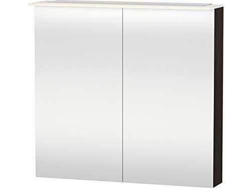 Duravit Spiegelschrank X-Large 138x80x760mm 2 Spiegeltüren, LED, kastanie dunkel, XL759405353