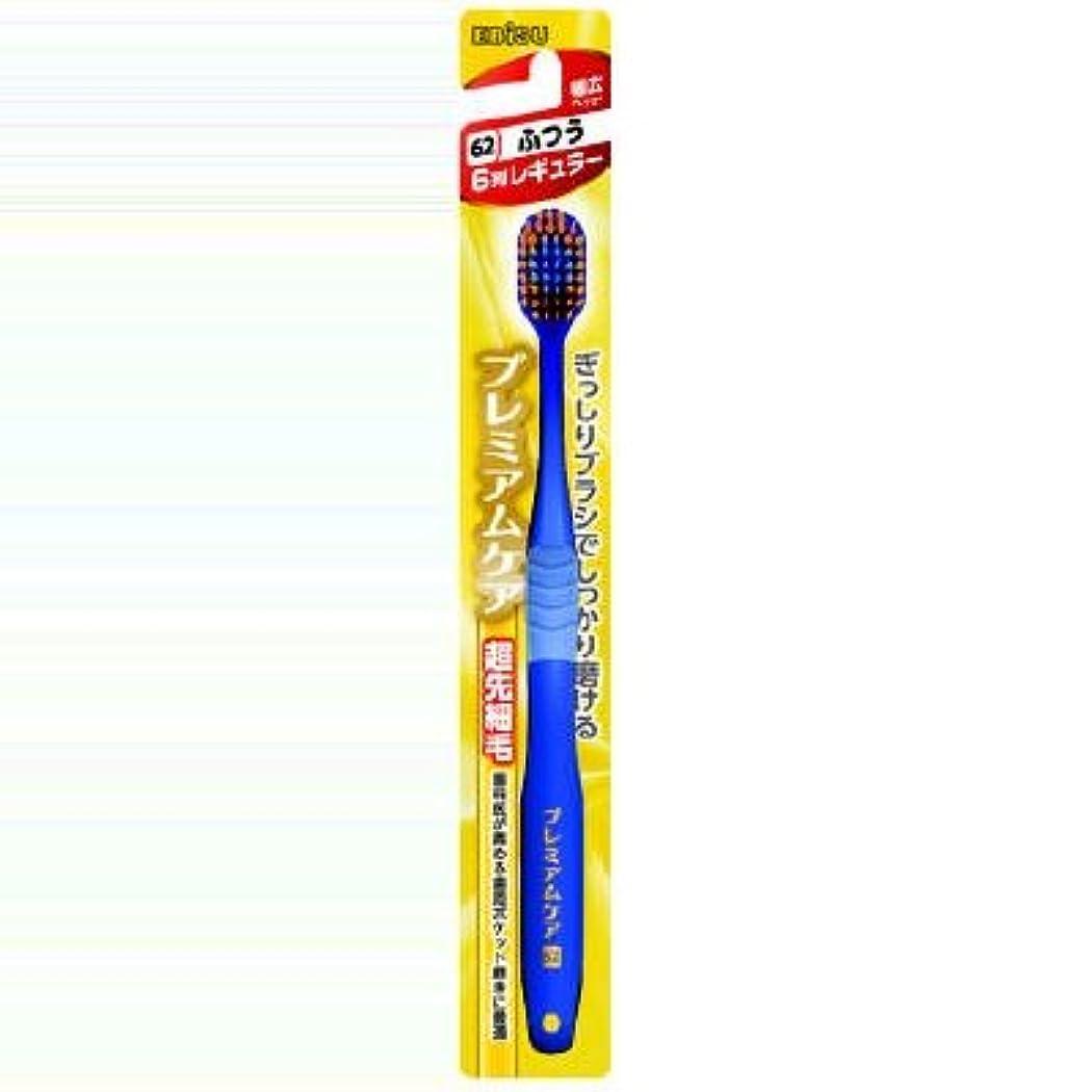 緩める適切にバンガロー【まとめ買い】プレミアムケアハブラシ ふつう ×2セット