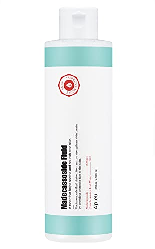 A'PIEU Madecassoside Fluid - Face toner Skin Care Korean Toner for Dry and Combination Skin Types, Cleanses skin, Acne toner