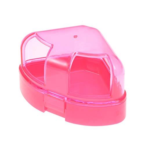 Balacoo Hamster Ratte Plastik Bad Käfig Box Spielzeug Toilette mit Sand Schaufel für Ratte Chinchilla Meerschweinchen
