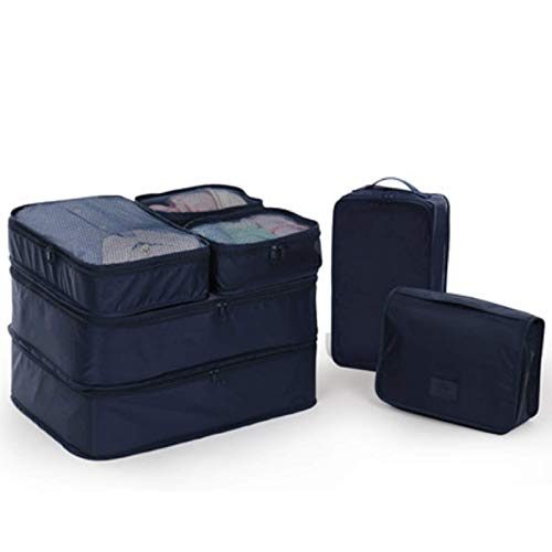 koigjh Storage Bag, Oxford Cloth Travel Suitcase, Pack Portable Clothes, Underwear, Underwear, Finishing Bag