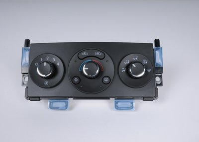 ACDelco 15-73873 GM Original Equipment Ebony Heating and Air Conditioning Control with Rear Window Defogger Switch
