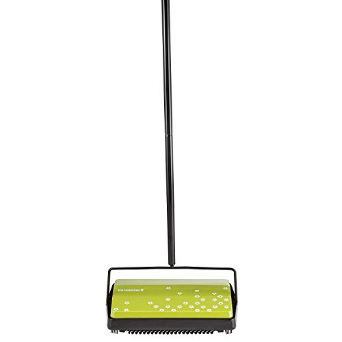 Read About Kubicle Bissell Carpet Sweeper with Advanced DirtLifter Triple Brush System and Large Dua...