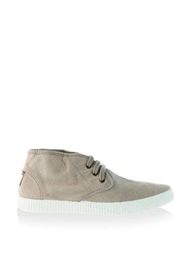 Calego - Zapatos de Cordones de Tela para Mujer (38 EU, Beige)