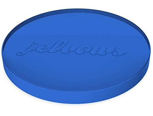 jelbows Ergonomic Gel Wrist Rests for Arms and Elbows - The Perfect Pain Relief Solution for Tennis Elbow, Carpal Tunnel Syndrome, Bursitis, and Arthritis (Big Blue, 2 Pack)
