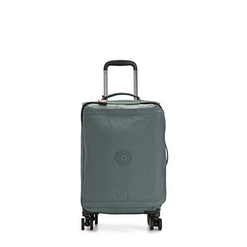 Kipling Spontaneous Softside Spinner Wheel Luggage, Light Aloe, Carry-On 21-Inch