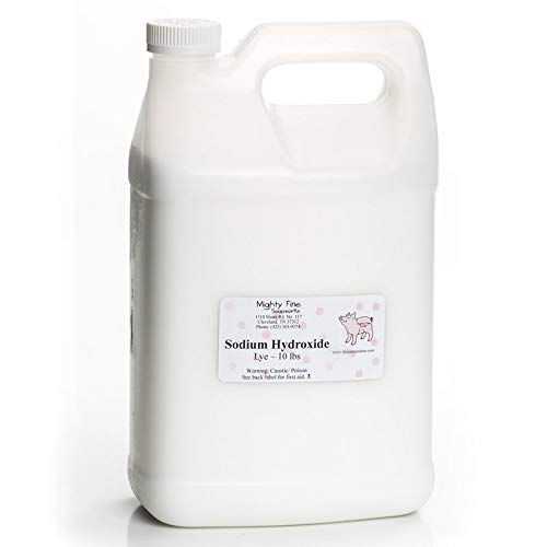Sodium Hydroxide (Lye) for Soapmaking (10 lb)