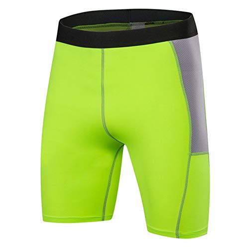 Shorts de ciclismo para hombre Pantalones cortos de ciclista Hombres Pantalones cortos de compresión básica de la capa de deportes de la ropa interior de fitness ejercicio corriente de para MTB Runnin