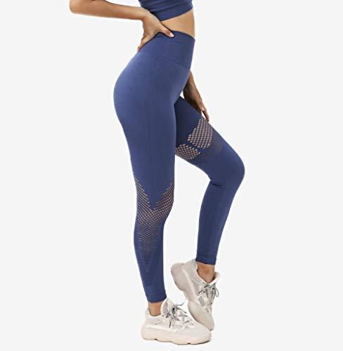 Rrui Sportkleding voor dames, met lange mouwen, elastisch, yoga, wear, tweedelige set, voor dames, mintgroen