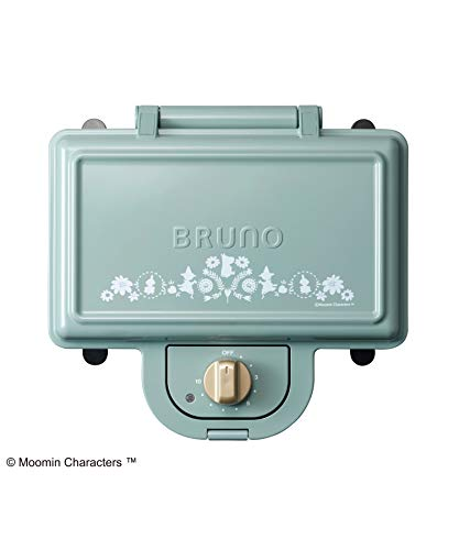 Review BRUNOMoomin Hot Sand Maker Double (Blue Gray) BOE051-BGR【Japan Domestic Genuine Productsã...