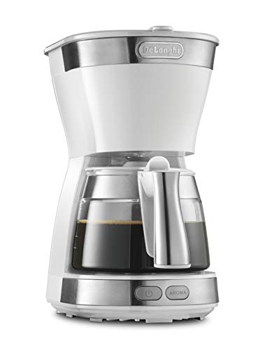 デロンギ(DeLonghi) ドリップコーヒーメーカー ホワイト アクティブシリーズ [5杯用]ICM12011J-W
