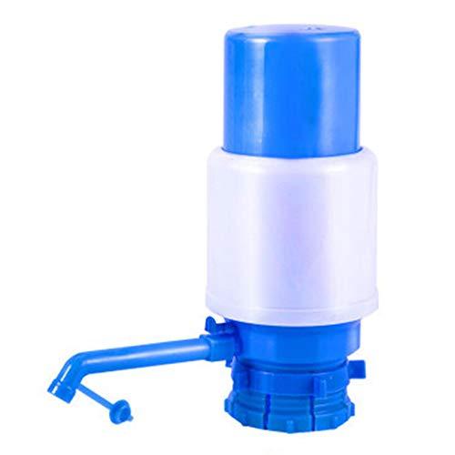 Yinew Bomba de agua Bomba de agua potable manual Se adapta a la mayoría de los enfriadores de agua,Azul,Los 20 * 7.4 * 22cm
