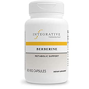 Integrative Therapeutics Berberine - Metabolic and Healthy Blood Sugar Support Supplement with Berberine HCl* - for Men and Women - Gluten Free and Vegan - 60 500 mg Capsules