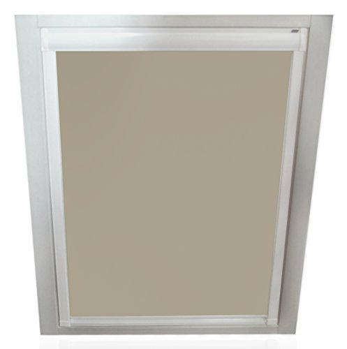 sun collection Verdunkelungsrollos für Roto Fenster - Profilfarbe Weiß