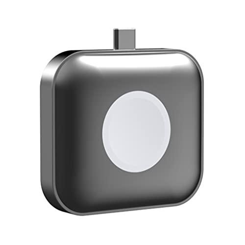 COLLAGEN fhdjcn Tipo-C Cargador Cargador inalámbrico con Soporte para Apple Watch i-Watch-Cargador AirPods