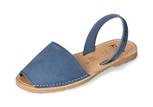 ria menorca Damen Sandaletten Sandalette 20002-S2-EGEO blau 460984