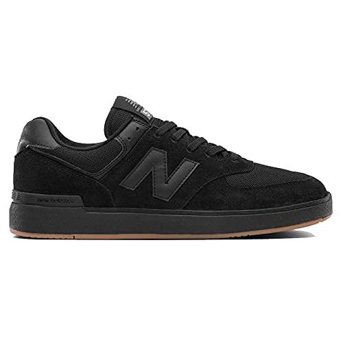 New Balance AM574V1, Zapatos de Skate Hombre, Black, 40.5 EU