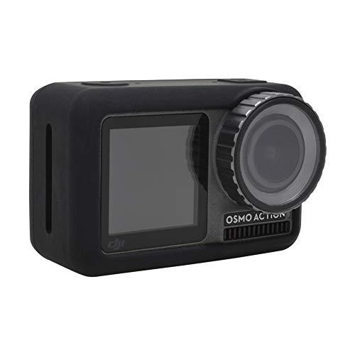 Coque en Silicone pour DJI Osmo Action - Housse de Protection Souple pour Appareil Photo Compatible avec Osmo Action