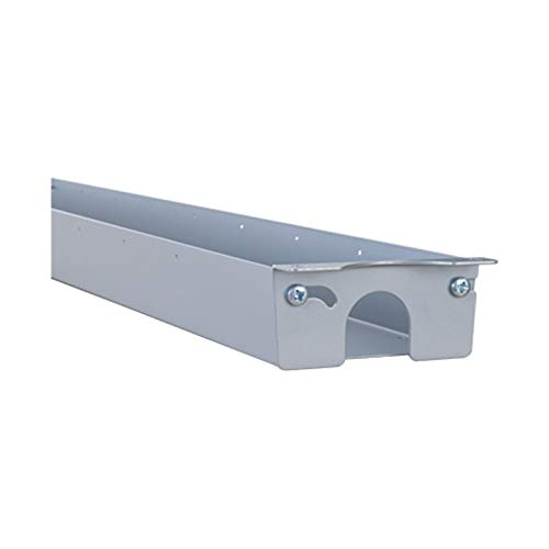 STIER Universal-Kabelkanal, für alle Schreibtische, insb. Für STIER elektrisch höhenverstellbare Tische, Länge: 96-166cm