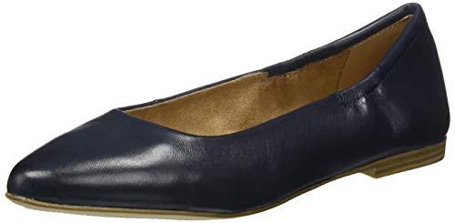 s.Oliver Damen 5-5-22101-24 Geschlossene Ballerinas, Blau (Navy 805), 41