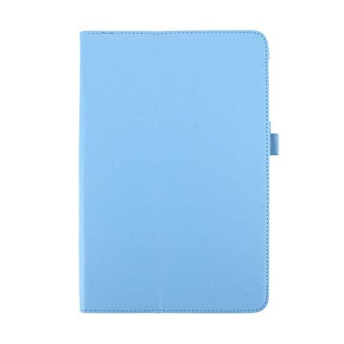 XINGCHEN Tablet PC Shell for Galaxy Tab A 10.1 (2016) / P585 Litchi Texture con Funda de Cuero con Tapa Horizontal y Soporte (Negro) Funda Protectora (Color : Baby Blue)