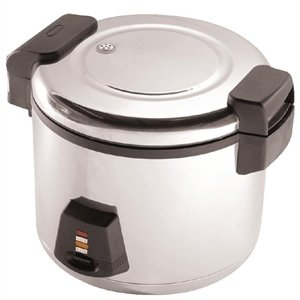 Buffalo Heavy Duty Rice Cooker 6Ltr – Commercial Kitchen Professional Restaurant Bistro Cafe Rice Cooker