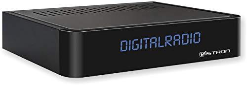 Vistron VT855-N DVB-C Radio Tuner, Kabelradio, Radio für digitales Kabelfernsehen von Vodafone, Unitymedia, Telecolumbus, M-Net usw.