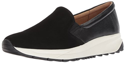 Naturalizer Women's Selah Sneaker, Black, 10.5 M US
