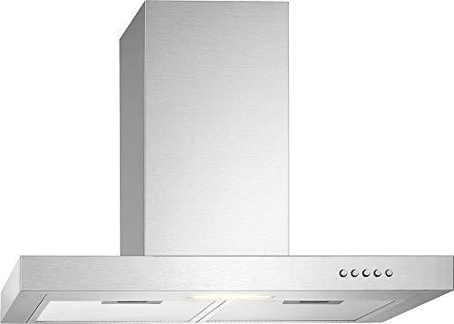 Bomann DU 7600 IX Dunstabzugshaube/ 60 cm Breite/Umluft- oder Abluftbetrieb/Edelstahl