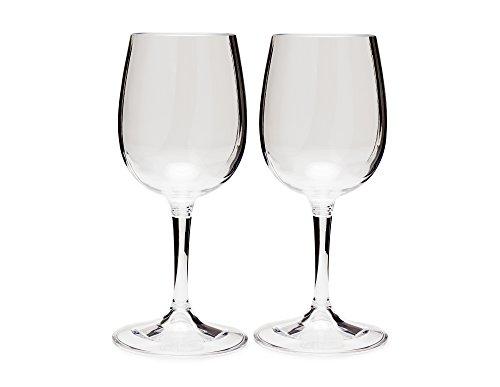 GSI Outdoors Nesting Wine Glass Set, Unisex, Erwachsene, mehrfarbig, Einheitsgröße