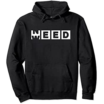 Pride Apparel funny need weed design stoned gift idea Pullover Hoodie