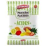 Stuffed Hard Candy Assorted Fruit Flavor, Caramelos Acidos Frutales Surtidos Georgalos 450 gr / 15.87 oz