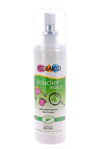 Pediakid - Bouclier insect spray - 100 ml spray - Protéger les enfants des piqûres d'insectes
