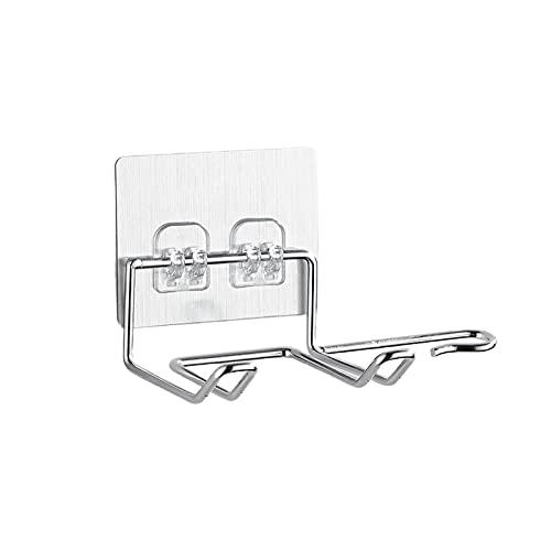 LCK Secador de Pelo Porta Rack Barber Styling Storage Storeners Organizador Secador de Pelo Soporte de Acero Inoxidable Organizador de Soporte