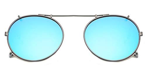 LOHO Gafas de sol polarizadas Clip en lentes polarizados UV400 para hombre y mujer, ajuste cómodo y seguro sobre gafas de sol para conducción y al aire libre