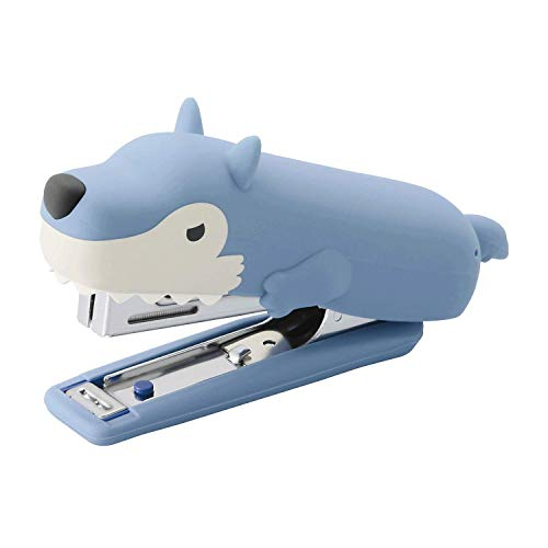 MAX USA HD-10NX/S Cute Animal Silicone Stapler (Wolf) – Special Edition (HD-10NX/S WL Stapler)