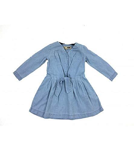 Primark meisje jeansjurk tuniek jurk lange mouwen denim Blue
