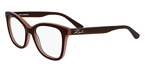 Karl Lagerfeld KL972, Acetate - Gafas de Sol marrón/ópalo, Unisex, Adulto, Multicolor, estándar