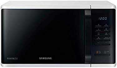 Samsung MG23K3513AW Encimera - Microondas (Encimera, Microondas con grill, 23 L, 800 W, Botones, Giratorio, Negro, Blanco)